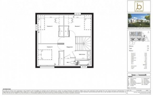 ANDR'IMMO - L'Expertise Immobiliere : Maison / Villa | VILLEFRANCHE-SUR-SAONE (69400) | 85 m2 | 293 000 €